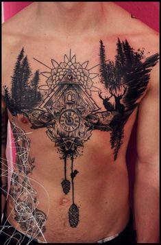 Tattoo-Foto: Schwarzwald <3 (In Progress)