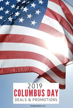2019 Columbus Day Deals & Discounts Savings Planner, Budget Planner, Money Tips, Money Saving Tips, Columbus Day Sale, Best Gift Cards, Gift Card Giveaway, Frugal Living Tips, Budgeting Tips