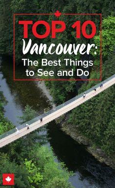 Adventure is never far away in Vancouver, Canada... Are you brave enough to tackle the Capilano Suspension Bridge? | @explorecanada