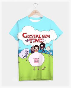 Adventure Time Style Steven Universe All-Over Tee by Slothgirlart