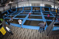 Nottingham could be getting a trampoline park similar to this. House of Air Indoor trampoline park. Extreme Trampoline, Trampoline Room, Backyard Trampoline, Cheap Things To Do, Adventure Bucket List, Nottingham, Delaware, You Can Do, Good Times