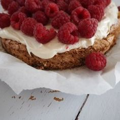 Danish Food, Cakes And More, Great Recipes, Raspberry, Cheesecake, Baking, Fruit, Ethnic Recipes, Sweet