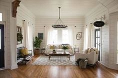 Go bold with white walls with these tips from Joanna Gaines on how to add texture, interest, dimension, and impact to make your house feel homey and serene.