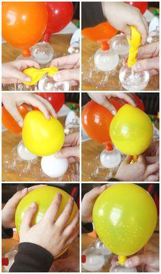 Balloon Science Inflating Balloons Experiment Baking Soda Vinegar Balloon Activity