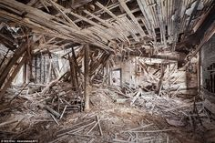Farm Colony: Photographed is the last standing room of the Staten Island Farm Colony which was constructed in the 19th century to house and rehabilitate the city's poor