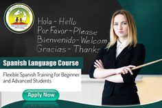 Flexible spanish language course for beginner's and advance students Spanish Language Courses, Spanish Courses, Interview Training, How To Introduce Yourself, Vocabulary, Flexibility, Students, How To Apply, Learning