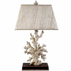 Show details for Caribbean Coral Table Lamp
