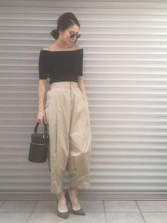 emaemi|BLACK BY MOUSSYのパンツを使ったコーディネート - WEAR