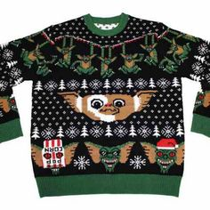 "slasherstudios: ""I need $85 to buy this sweater… #gizmo #gremlins """