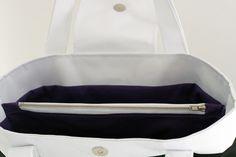Poche séparatrice zippée Triangle Bag, Gym Bag, Laetitia, Pocket, Boutique, Pattern, Divider, Diy, Fashion