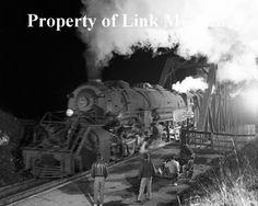 1956 image of Freight No. 88 at Natural Bridge, VA.  (O. Winston Link Museum)