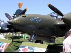 Aviation - Aircraft Photo - Lockheed P-38 http://www.FunPlacesToFly.com