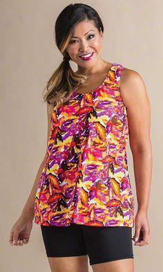Madison Swim Top/ MiB Plus Size Fashion for Women