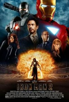 Roger's Rundown: Iron Man 2 (2010)  Please check out my blog. If you like it, please share comment and follow my blog and one of my pinterest boards.