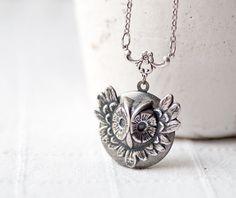 Cute owl locket!
