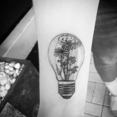 Rudbeckia, Queen Anne's laces and baby' breath light bulb by Alexandyr Valentine