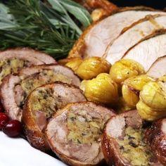 Roasted Turkey Two Ways #Recipe. #Thanksgiving