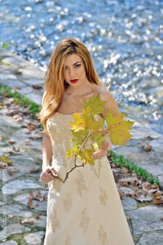 "Photoshooting for calendar 2014 ""the runaway bride"" Photographer-Ntaras Ioannis Photography Hairstyling- Efrosini Dova Makeup-Vaso Mpeka montaz-Panagiwths Ntaras"