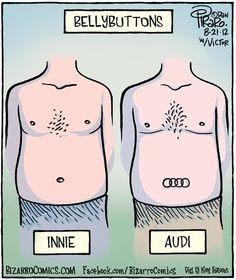 Innie vs. Audi hahaha