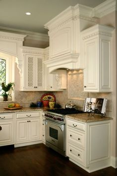 hood cabinet --- kitchen cabinets above stove | Custom Cabinets : Kitchens : Bathroom : Bath : Library : Dream Home ...