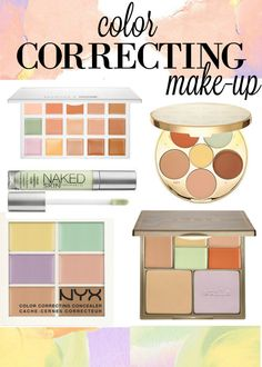 THESE are the best color correcting makeup products for your dark circles, dark spots and redness
