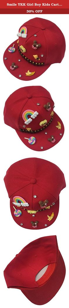 Smile YKK Girl Boy Kids Cartoon Adjustable Baseball Hat Fishing Hat Outdoor Sport Hat Red. Material:Cotton Size:50-54cm Great for most outdoor activities ...Fishing, Hiking, Boating, Hunting/ Cotton Blend High quality materials Please select the actual choice according to the actual baby head +1.5CM, this is the cotton products, after all, suitable for infants and young children Simple feel good fabric and lightweight. Completely crushable and packable, great for travel!.