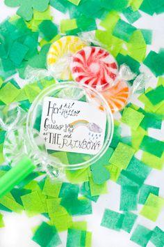 Printable Leprechaun Note for St Patricks Day