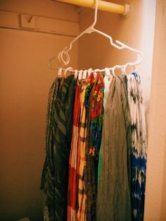 Use Shower Curtain Rings