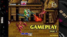 Golden Axe MEGA DRIVE Gameplay Fase 2