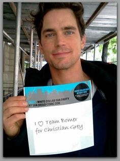 He can be my Christian Grey!