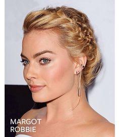 Margot Robbie | Braids | @instylemag