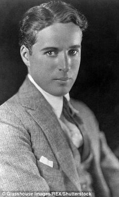 Comic and filmmaker Charlie Chaplin...