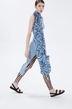 "The main theme of A.W.A.K.E SS16 collection is ZEBRA which we can clearly see because of the print. Style these leggings with <a href=""/catalog/brand/65421/"">other pieces from the same collection</a>."