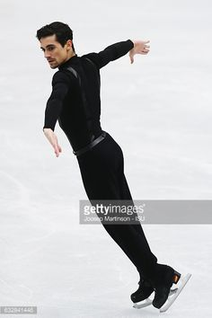 News Photo : Javier Fernandez of Spain competes in the Men's...