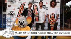 PS 4 COS Cup 2015 Europa-Park Rust   Titus Skateboards - http://DAILYSKATETUBE.COM/ps-4-cos-cup-2015-europa-park-rust-titus-skateboards/ - Follow us now at http://www.facebook.com/titus   http://www.instagram.com/titus   http://www.titus-shop.com   PS 4 COS Cup 2015 Europa-Park Rust   Titus Skateboards Habt ihr den COS-Livestream verfolgt? Nee? Ok, dann kurze Zusammenfassung: Nach Bremen, Gelsenkirchen, Dresden und Münster, hieß es i - 2015, EuropaPark, Rust, skateboards, T
