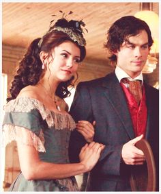 Katherine and Damon (The Vampire Diaries)