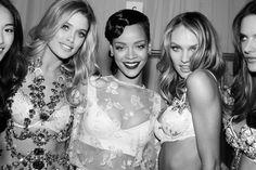 Doutzen Rihanna and Candice