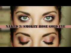 Naked 3 Tutorial: Every Day Smokey Rose Gold Eye
