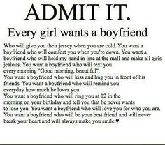 Admit it....