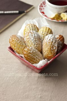 Orange-Cardamom Madeleines | Recipe | Madeleine, Martha Stewart ...