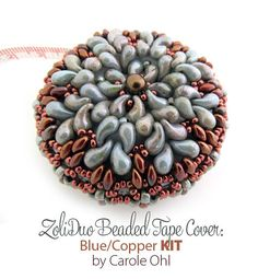 ZoliDuo Tape Cover KIT: Blu/Copper by Carole Ohl