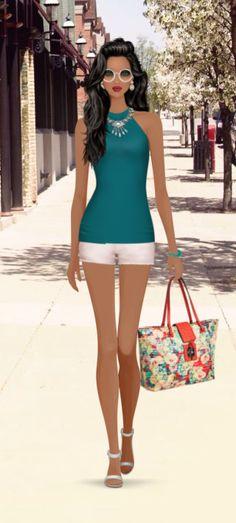 Fashion Game Diva Fashion, Fashion Games, Covet Fashion, Womens Fashion, Lucy Costume, Divas, Tankini, Girly, Characters