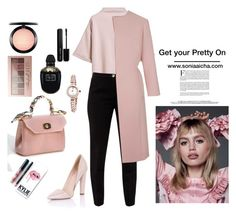 Get your pretty On! by soniaaicha on Polyvore featuring polyvore, fashion, style, Ted Baker, Paper Dolls, Bling Jewelry, Maybelline, MAC Cosmetics, Marc Jacobs, Alexander McQueen, Kylie Cosmetics and clothing
