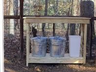 Make a Storage Station for Your Chicken Coop
