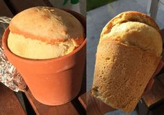 How to make flower pot bread over a camp fire