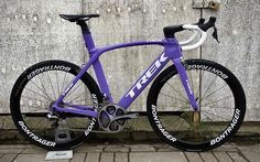 """Mi piace"": 3,012, commenti: 15 - CYCLING + ROAD BIKES (@pro_tour_cycling) su Instagram: ""Trek Madone in Purple  Photo Credit: @roadcycleex  #trek #madone #bontrager #shimano #di2"""