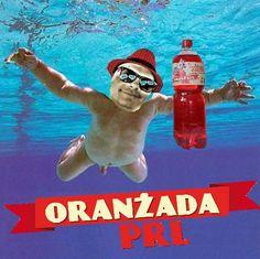 Obywatele !  Wkrótce ciąg dalszy z Premiery Oranżady PRL ale dzisiaj aktualna informacja Towarzysza Krzysztofa Skiby: Po latach zespół Nirvana się reaktywował! Nagrań jeszcze nie ma ale oto okładka ich najnowszej płyty.