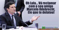 Vai reclamar com o Marcelo Odebrecht, diria Sérgio Moro, após homologação da delação do empreiteiro | Imprensa Viva