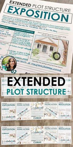 Plot Structure Diagram for ANY Novel: Grades EDITABLE Extended plot structure activity for middle and high school English Middle School Ela, Middle School English, Middle School Classroom, 10th Grade English, Middle School Literature, 8th Grade Ela, 6th Grade Reading, Sixth Grade, Seventh Grade