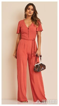 Look book 11 – cora canela Skirt Outfits, Cool Outfits, Casual Outfits, Fashion Outfits, Womens Fashion, Style Feminin, What To Wear To A Wedding, Jumpsuit Outfit, Jumpsuits For Women